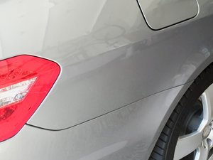 Mercedes Benz C Class After Paintless Dent Repair